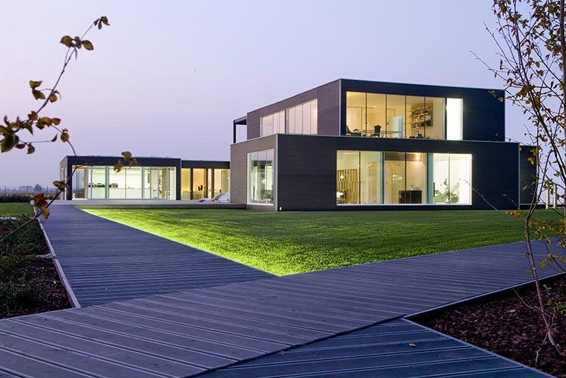 Moderne holzarchitektur  Moderne Holzarchitektur - Rolo - HOKU - Holzbau Zimmerei Pustertal ...